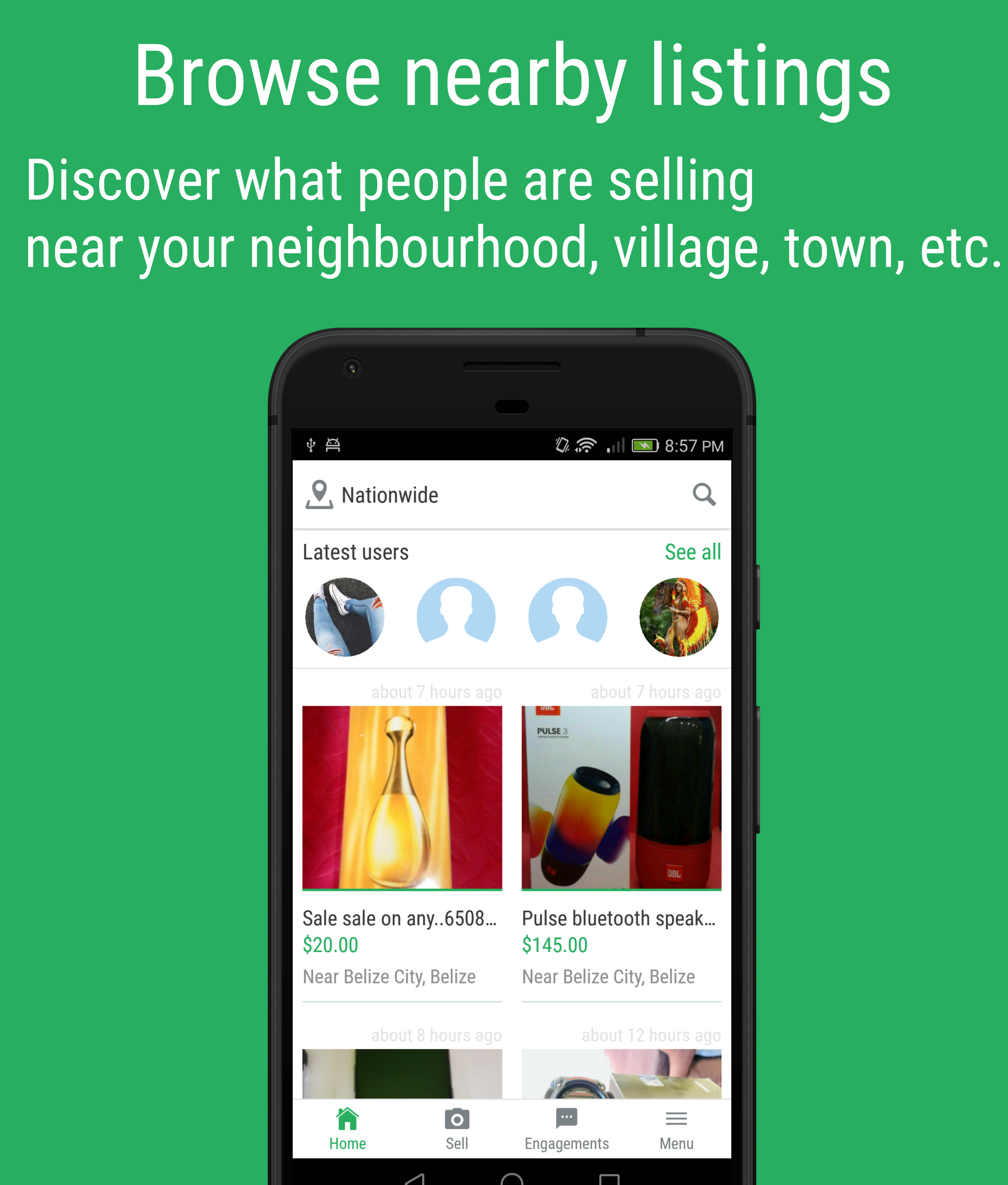 Nearby Listing Filter