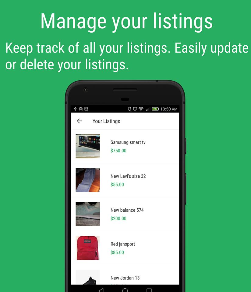 Tracking listings